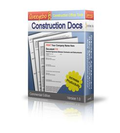 contract and form templates for construction