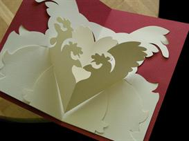 12 gifts -french hens-easycutpopup