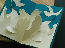 12 Gifts -Calling Birds-EasyCutPopup | eBooks | Arts and Crafts
