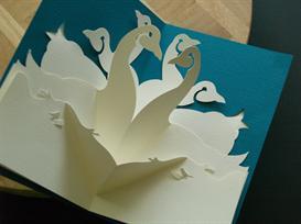 12 gifts -geese-easycutpopup