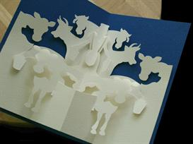 12 Gifts -Milk Maids-EasyCutPopup | eBooks | Arts and Crafts