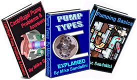 new pumps (3 book set) water, sump, centrifugal etc.