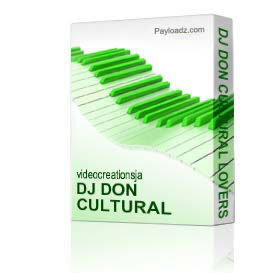 dj don cultural lovers rock vol 15 , 2013