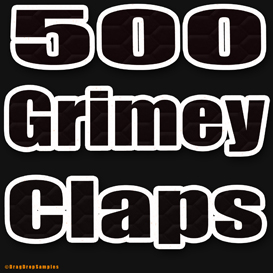 500 hip hop claps clap drum sample fl studio cubase logic ableton live maschine