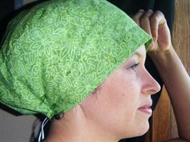 scrub hat pattern chemo cap sewing pattern