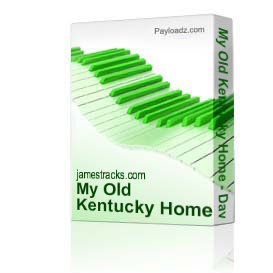my old kentucky home - david harrington