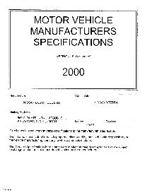 2000 nissan xterra mvma