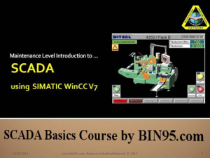 SCADA Basics Course - PowerPoint edition | Other Files | Presentations