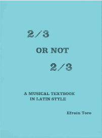 2/3 or not 2/3 by efrain toro