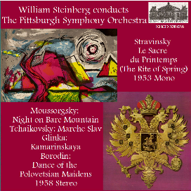 russian orchestral favorites - pittsburgh symphony orchestra/william steinberg