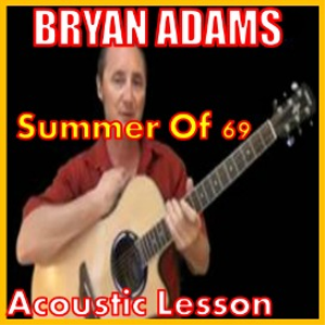 learn to play summer of 69 by bryan adams