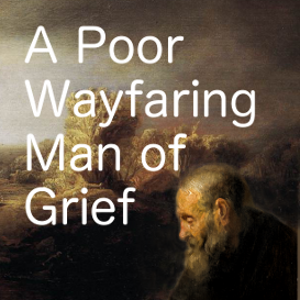 a poor wayfaring man of grief sheet music