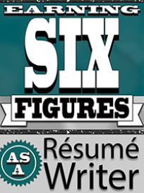 earning six figures as a resume writer