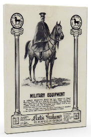 military equipment. leckie grahams, glasgow. (1910)