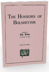 the horrors of bolshevism. (november 1919)