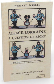 alsace - lorraine. a question of right.(1918)