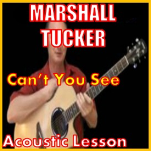 learn to play cant you see by the marshall tucker band