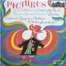 mussorgsky (arr. ravel): pictures at an exhibition; berlioz: roman carnival overture - cincinnati symphony orchestra/erich kunzel