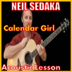 learn to play calendar girl by neil sedaka