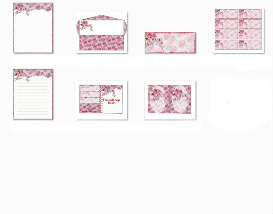 printable stationary designs vol 5 made by sophia delve