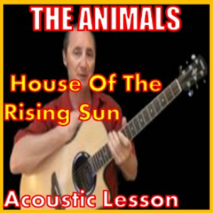 learn to play house of the rising sun by the animals