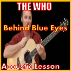 learn to play behind blue eyes by the who