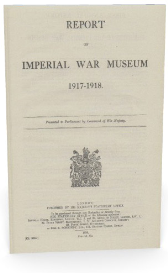 report of imperial war museum 1917-1918.