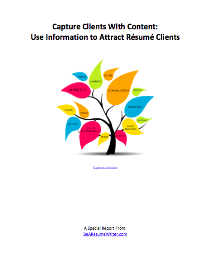 capture clients with content special report