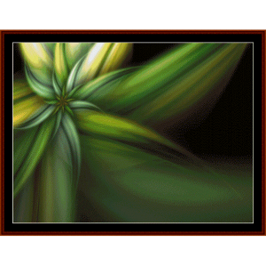 Fractal 284 cross stitch pattern by Cross Stitch Collectibles | Crafting | Cross-Stitch | Wall Hangings