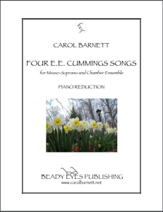 Four E.E. Cummings Songs (Piano Reduction) | Music | Classical