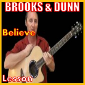 learn to play believe by brooks and dunn