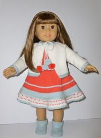 doll knitting pattern - a008-summer magic