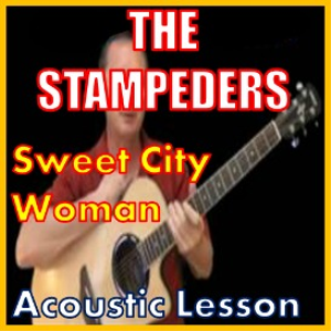 learn to play sweet city woman by the stampeders