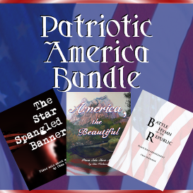 patriotic america sheet music bundle