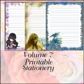 printable stationary designs vol 7