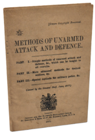 methods of unarmed attack and defense (1917)