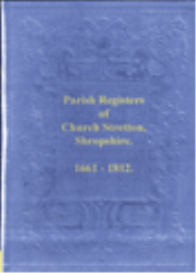 church stretton parish registers