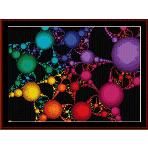 Fractal 58 cross stitch pattern by Cross Stitch Collectibles | Crafting | Cross-Stitch | Wall Hangings