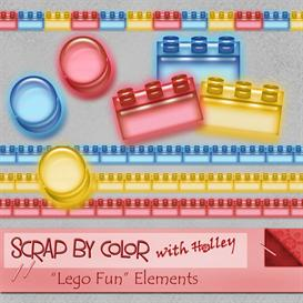 Lego Fun Elements | Other Files | Scrapbooking