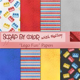 Lego Fun Papers | Other Files | Scrapbooking