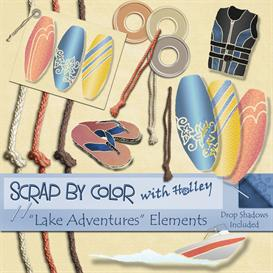 Lake Adventures Elements | Other Files | Scrapbooking