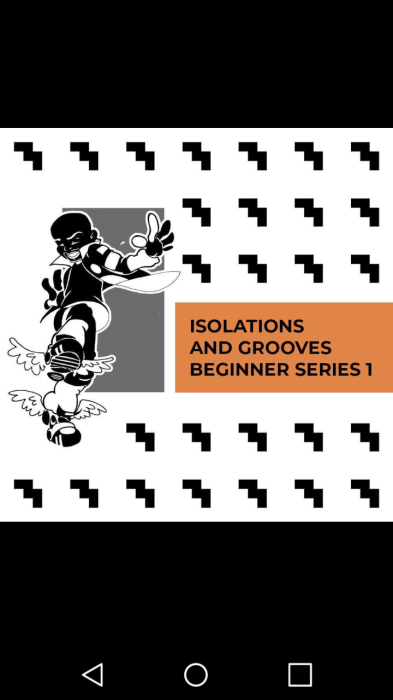 """Second Additional product image for - ISOLATIONS and groove Beginners series 1- with Brian """" Footwork """" Green"""