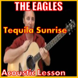 learn to play tequila sunrise by the eagles band