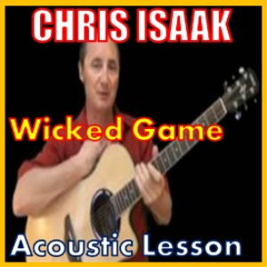 learn to play wicked game by chris isaak