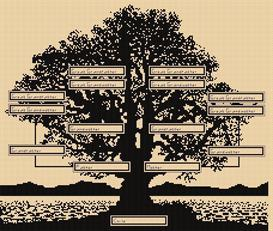 Blackwork Family Tree | Other Files | Arts and Crafts