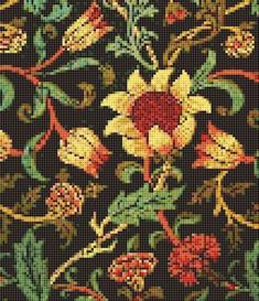 evenlode cross stitch pattern