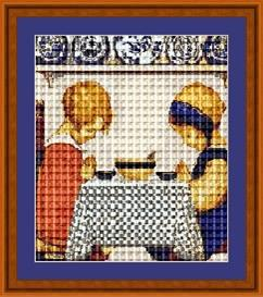 giving thanks cross stitch pattern