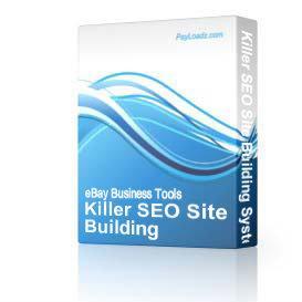 killer seo site building system