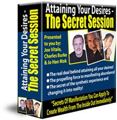 Attaining Your Desires Ebook & Audio The Secret Session Joe Vitale | Audio Books | Self-help