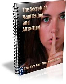 the secrets of manifesting and attracting ebook resell